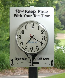Golf Slow Pace of Play
