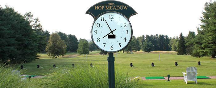 Golf Course Clocks