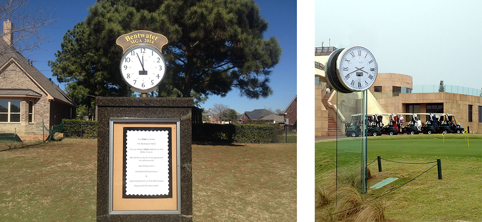 Custom-Golf-Course-Clock